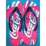 Sandália Tipo Havaianas Personalizado Coca Cola