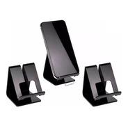 Kit 3 Suporte Universal Celular Smartphone Expositor Mesa