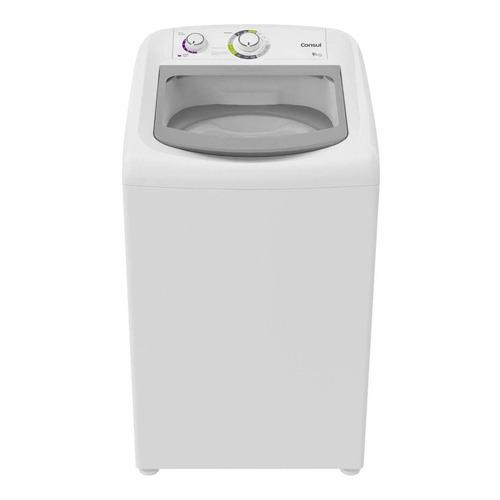 Lavadora de roupas automática Consul CWB09AB branca 9kg 110V