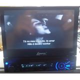 Lenoxx Ad-1845 Dvd Som Automotivo Retratil Dvd Carro