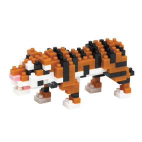 80800d6369011 Nanoblock Tigre De Bengala Rompecabezas 3d Tienda Oficial