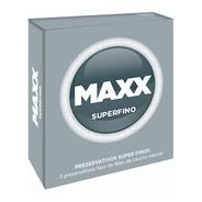 Preservativos Maxx Super Fino X3 Mas Finos Sensacion Natural