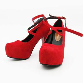 973e98d492 42 Scarpins N  41 - Scarpins para Feminino Vermelho no Mercado Livre ...