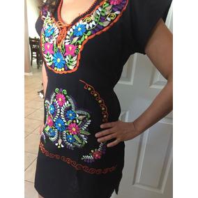 Vestidos Artesanales Mexicanos Bordados