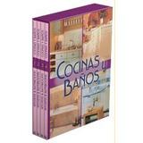 Libro Cocinas Y Baños (4 Tomos) - Ediciones Daly España