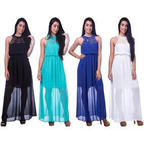 Roupas Femininas Vestido Festa Gala Casamento Gestante 2714