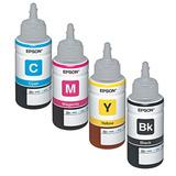 Tinta Refil Epson Generica 70ml 4 Cores - C M Y K