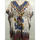 Kaftan 6a Bata/túnica/vest.curto/sobreleg. Estilo Indiano