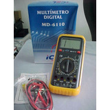 Multímetro Digital Icel Manaus Md-6110 C/freq.novo *
