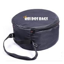 Capa Bag Caixa De Bateria 14 X 8 Acolchoada - Frete Gratis