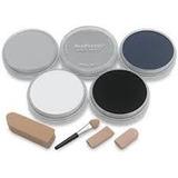 Pan Pastel Grey Set 5 Cores Tons De Cinza Pronta Entrega