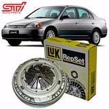 Kit Embreagem Luk Honda Civic 1.7 Ex Lx Lxb Lxl 2001 - 2006