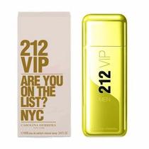 Perfume Para Hombre 212 Vip Men Gold Ch De 100ml Dorada