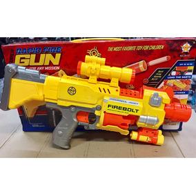 Nerf Rapid Fire Gun Automatica C/ Mira Óculos E 20 Dardos