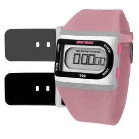 Relogio Mormaii Feminino Branco Digital - Relógios De Pulso no ... 8f487d667e