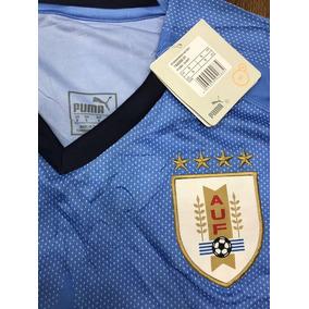 Camisa Seleção Uruguai 2018 Azul