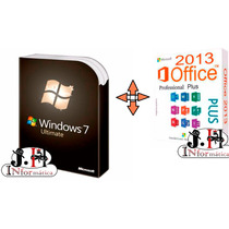 Licença / Chave/ Serial Windows 7 Ultimate + Office 2013 Pro