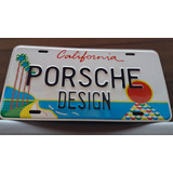 Placa Porsche Design Vlms California Boxter Cayman 911 Rs