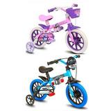 Bicicleta Infantil Aro 12 Veloz Ou Cat Nathor