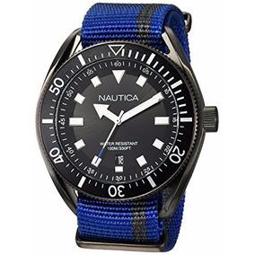 Reloj Nautica Hombre Portofino Black Dial Original Con Envio
