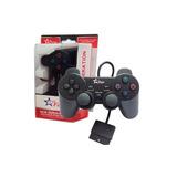Controle Ps2 Sony Original Dualshock Com Fio Fr-201-feir