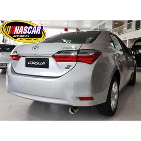 Ponteira Toyota Corolla 2018 Em Aço Inox 304 Modelo Sport !