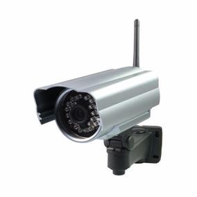 Camera Ip Externa Wireless Blindada Prova Chuva E Sol