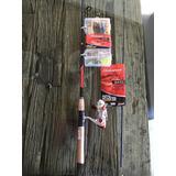 Caña Spinning Shakespeare Kit Berkley Pesca 2 Pcs