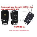 Llave Navaja Para Chevrolet Celta Ls Con Alarma Positron