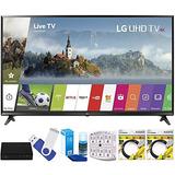 Lg 43uj Super Uhd 4k Hdr Smart Led Tv (modelo 2017) Además
