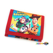 Carteira Infantil Toy Story