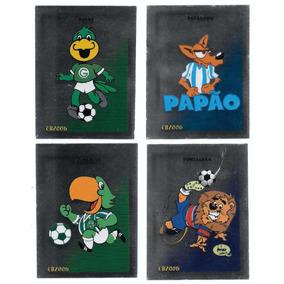 C004 Campeonato Brasileiro 2006 - Mascotes - Cromos
