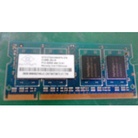 04 Memoria Ram Ddr2 512mb Para Laptop