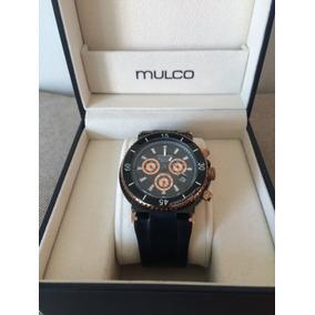 Reloj Mulco Blue Marine Genuino Para Caballero... Remato¡¡¡
