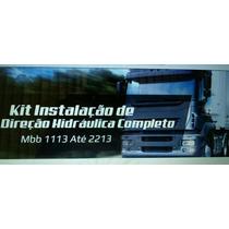 Kit Caixa Direção Hidraulica Mb 1113 Ate 2213 Completo Novo