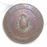 Medalla Corrientes Administracion Virasoro 1896 Educacion