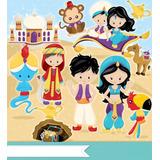 Kit Imprimible Aladin Princesa Jasmin