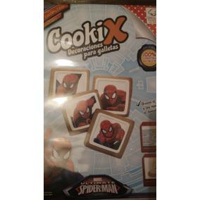 Decoraciones Comestibles Galletitas Hombre Araña Cookix