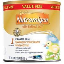 Nutramigen Con Enflora Lgg Bebé Fórmula - 19,8 Oz Polvo Pued