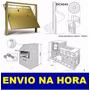 Kit Projeto Portões + Escada + Churrasqueira + Fogão A Lenha