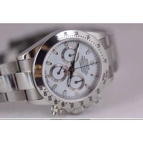 Reloj Rolex Daytona Plateado