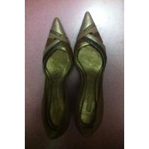 Sapato Arezzo - Scarpin Salto Agulha - Tom Sobre Tom - Novo!