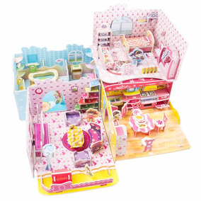 Casa De Boneca Para Crianças A Partir De 4 Anos