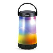 Parlante Portátil Novik Glow Bluetooth Multicolor Negro