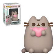 Boneco Funko Pop Pusheen - Pusheen With Heart 26
