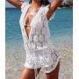 Salida De Playa Enterizo Bikini Talla Xs Nuevo En Stock