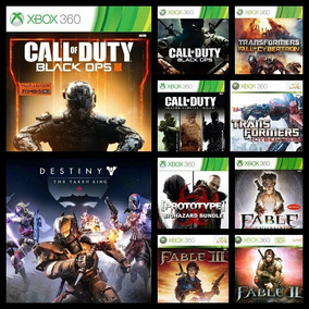13 Juegos Xbox 360. Original Digital. Llevate Todo!