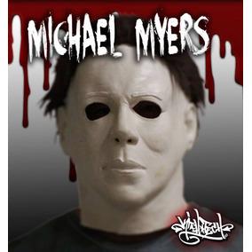 Mascara Latex Michael Myers Disfraz Halloween Terror