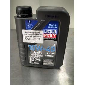 Liqui Moly Aceite Moto 4t 10w40 Basic Street 1l Original