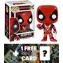 Marvel Deadpool Bueno: Funko Pop Figura X Deadpool Bobble He